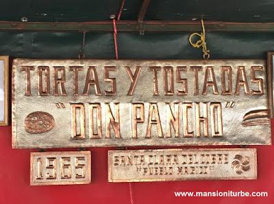 Tortas de Tostada en Santa Clara del Cobre, Michoacán