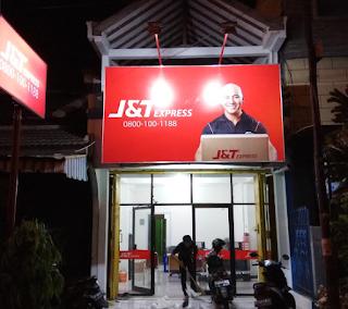 Alamat agen J&T Express di Surakarta.