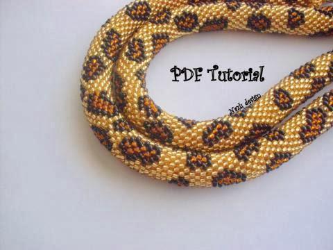 Crochet Bead Bracelet Pattern