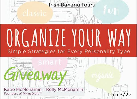 Organize Your Way Giveaway thru 3/27