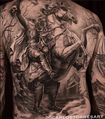 tatuajes para hombres de guerreros