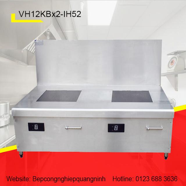 Bếp từ 2 lò phẳng VH12KBx2-IH52