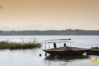 Il lago di Varese, dove si correrà la maratona