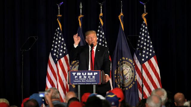 Trump promete a los estadounidenses bajar los impuestos