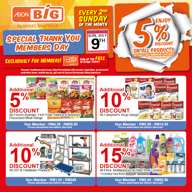 AEON BiG Malaysia Thank You Members Day