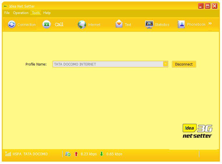 unlock idea netsetter e303d software