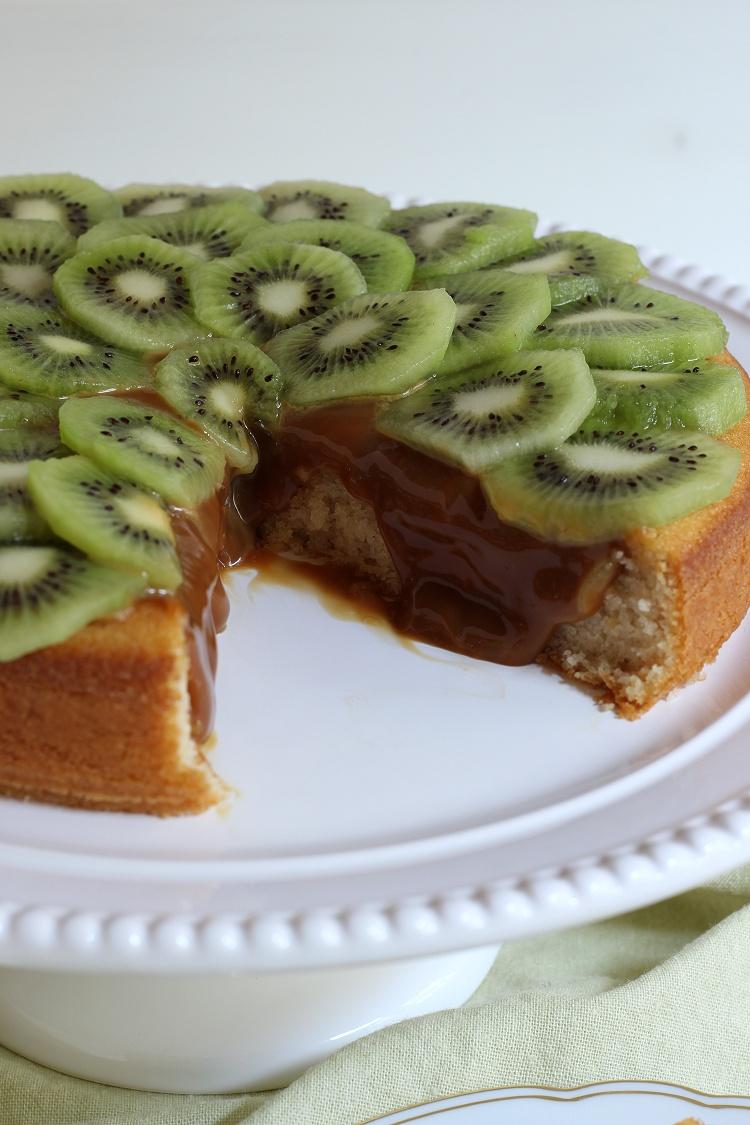 Kiwi-Karamell-Kuchen 3