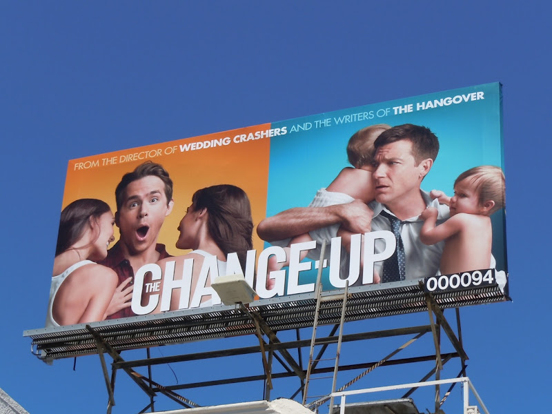 Change-Up movie billboard