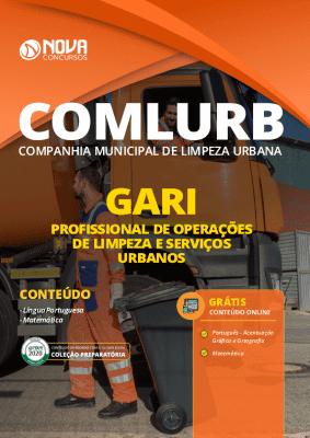 Apostila Concurso COMLURB 2020 Gari Grátis Cursos Online