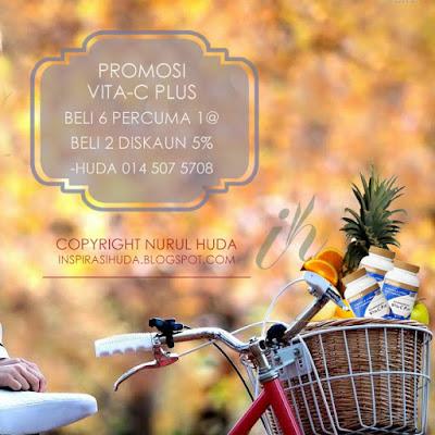 promosi, shaklee, vita c, vitamin c, vita c plus, produk, suplemen