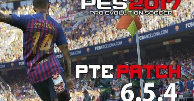PTE Patch V6 5 4 Unofficial (Base From PES 2019) V2 - PES