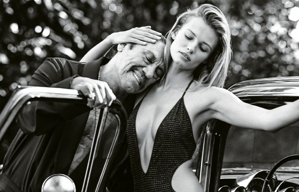 edita vilkeviciute and danny trejo by bruce weber for m le monde 1st march 2014