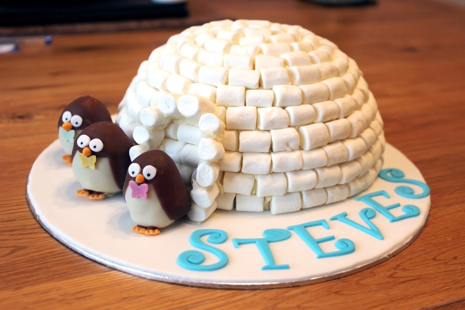 Penguin Igloo Cake M And S