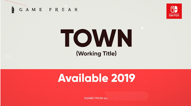 Town (working title) Game Freak Nintendo Direct September 2018