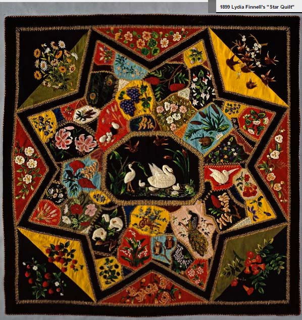 Barbara Brackman S Material Culture Smithsonian Quilt