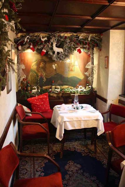 """Das """"Frauenzimmer"""" im Restaurant Eulenspiegel in Salzburg © Copyright Monika Fuchs, TravelWorldOnline"""