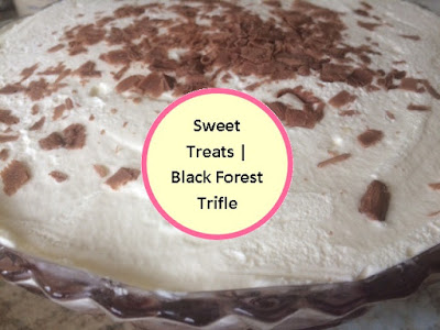 Trifle, Black Forest, Sweet Treats, Recipe, Fdbloggers, Dessert, Dinner party, Show stopper
