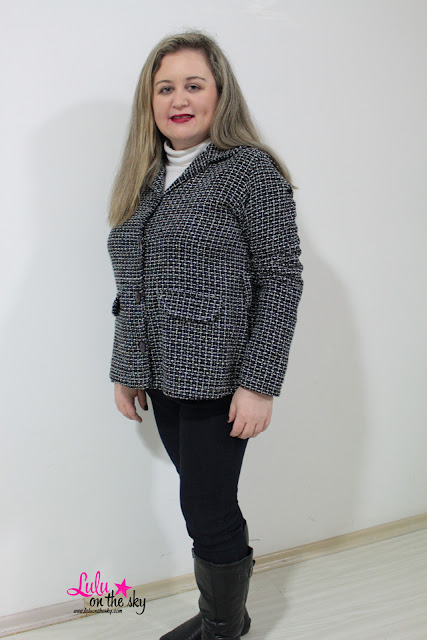 Look do dia:  Casaco de Tweed  - blog luluonthesky