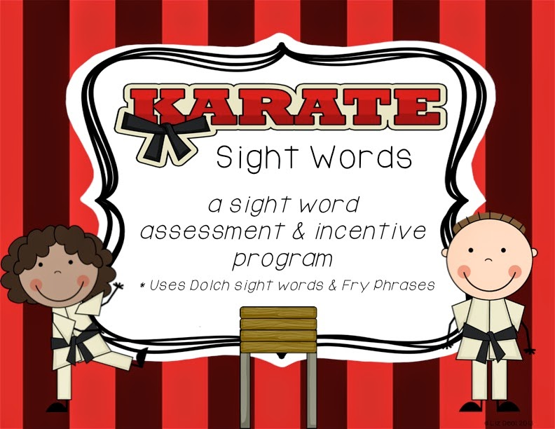 Polka Dot Firsties: A Sight Word Incentive Program