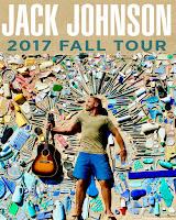 Jack Johnson 2017 Fall Tour