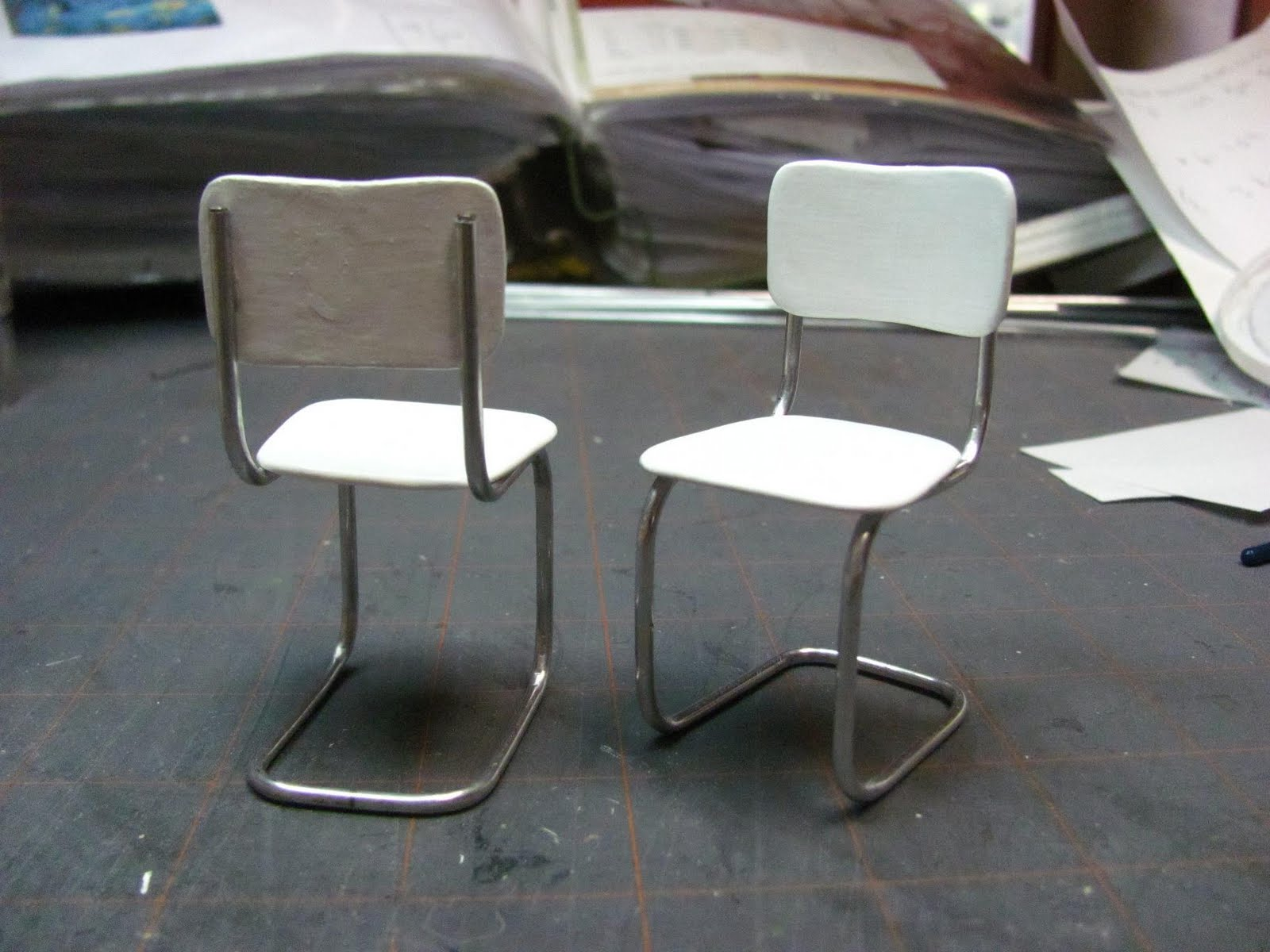 Vintage Kitchen Chairs Stoves Sale Dollhouse Miniature Furniture Tutorials 1 Inch Minis I