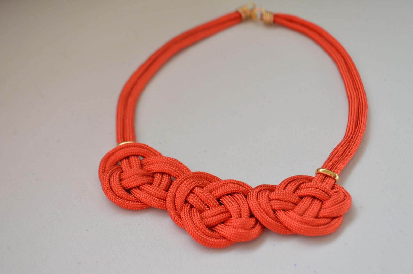 4bbfd001d437 DIY Cocoa Abalorios  Como hacer un collar elegante y moderno con ...