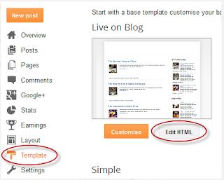 Menampilkan / Menyembunyikan Komentar Blogger dan Google+ Lalu Mengalihkannya
