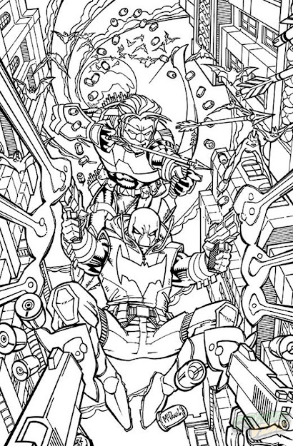 Dc January Coloring Book Variant