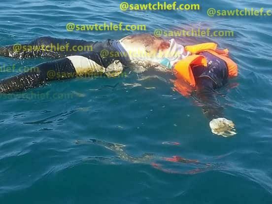 ظهور جثة تطفو عرض البحر  بسيدي عبد الرحمان