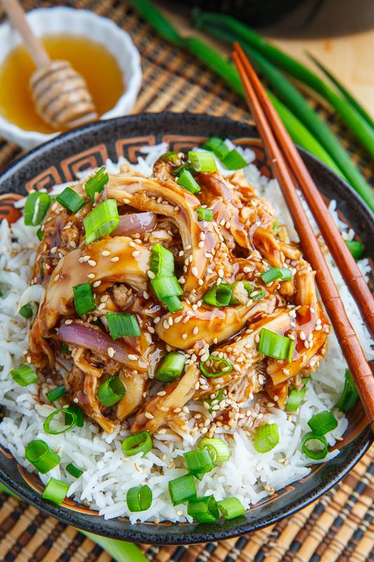 Slow cooker honey garlic sesame chicken recipe on closet cooking slow cooker honey garlic sesame chicken forumfinder Choice Image