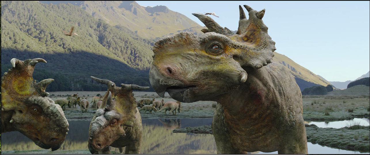 Caminando Entre Dinosaurios (2013) BRRip 720p HD INGLES Subs ESPAÑOL 7