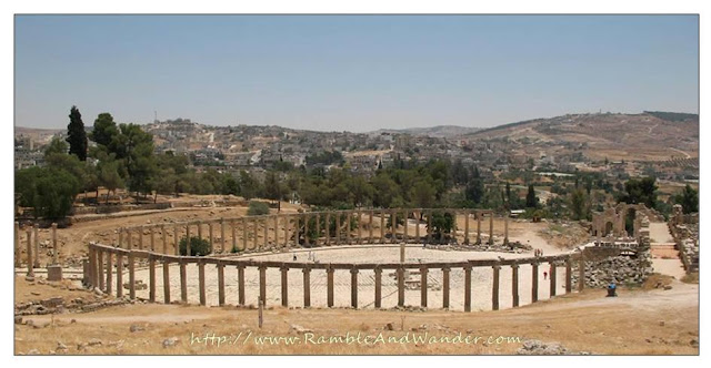 Jerash, the Greco-Roman City of Gerasa, Jordan