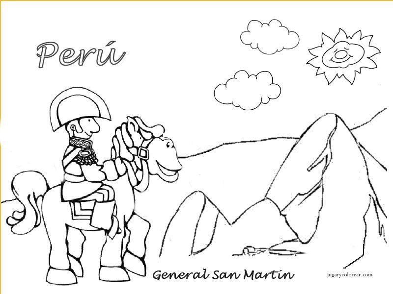 Dibujos Para Colorear Por Fiestas Patrias Imagui