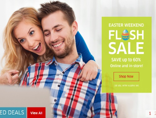 The Source Easter Weekend Flash Sale Up To 60% Off