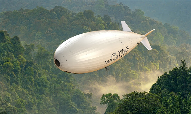 flying whales airship largest heavy transporter