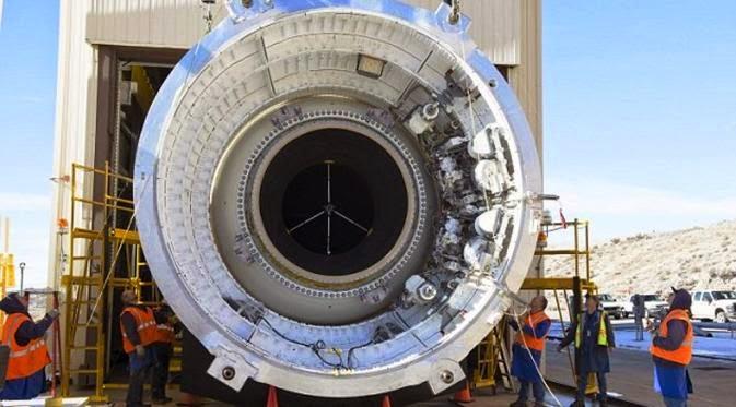 Pendorong Roket Ke Mars Milik NASA