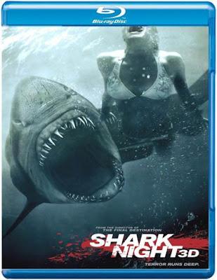 poster Shark Night 3D 2011 Dual Audio 720p BRRip 968Mb x264