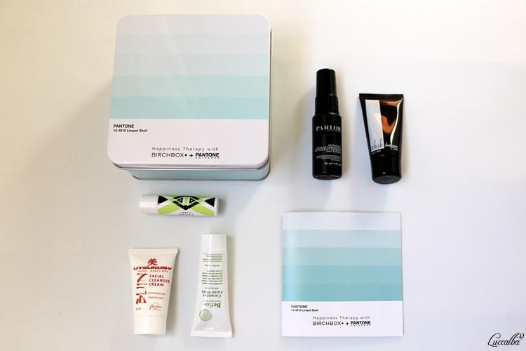 Productos caja Birchbox + Pantone Abril 2016