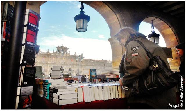 Fería del Libro de Salamanca, Día del Libro 23 de abril, Angel de Arriba Sánchez