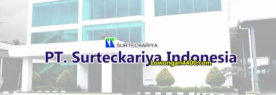 Lowongan Kerja PT. Surteckariya Indonesia Cibitung