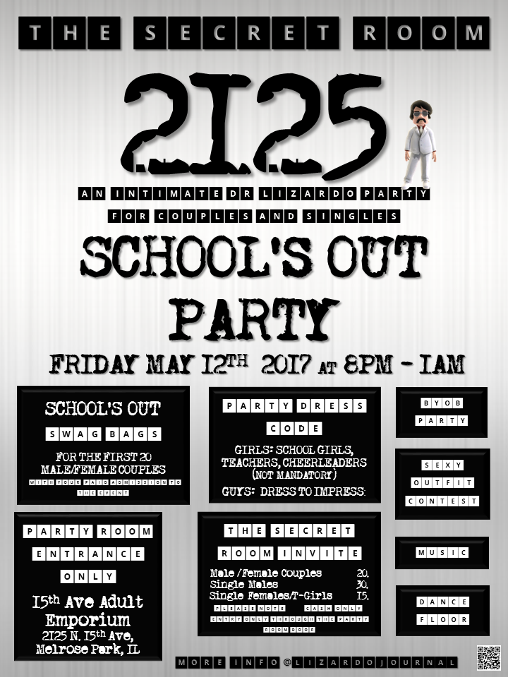The Secret Room 2125: School's Out Party