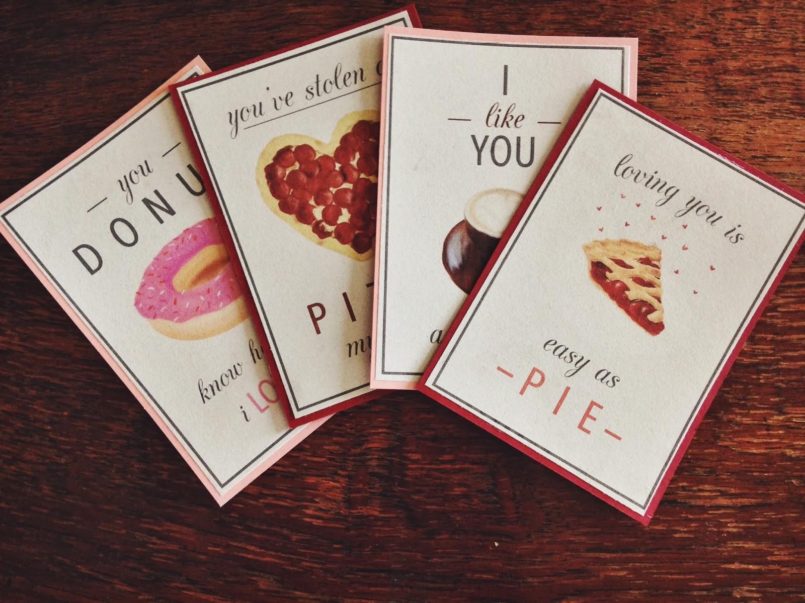 Oh Whimsical Me Junk Food Valentines