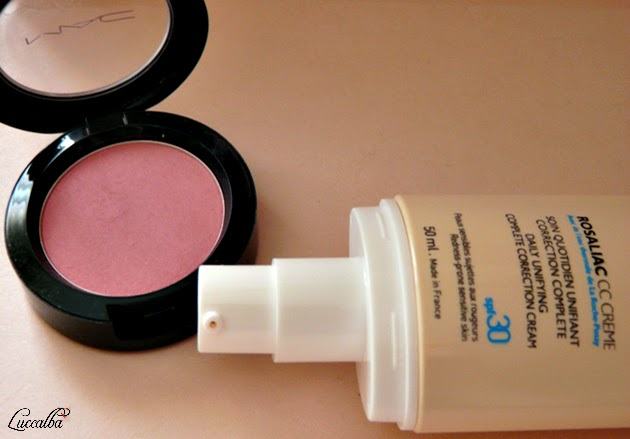 CC Cream Rosaliac + Colorete Formal de MAC