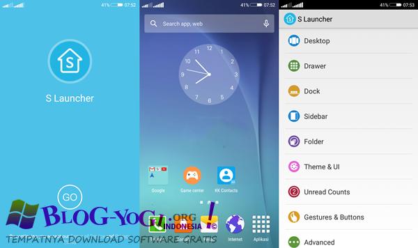 S Launcher Prime (Galaxy S6 Launcher) v3.95 Apk