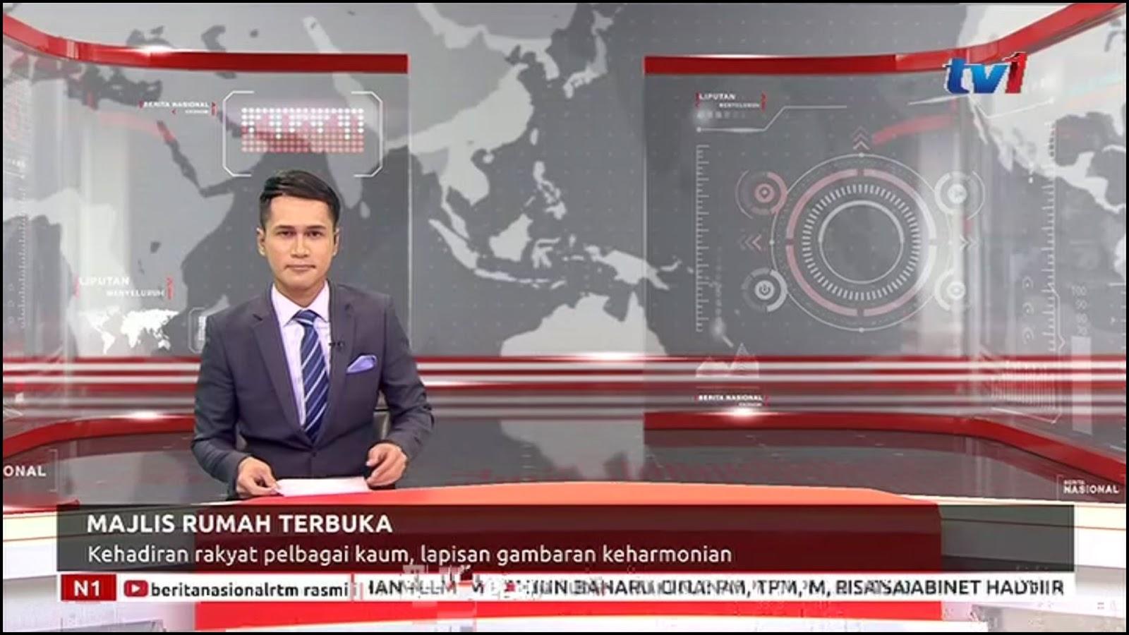 Frekuensi siaran RTM Malaysia di satelit Palapa D Terbaru