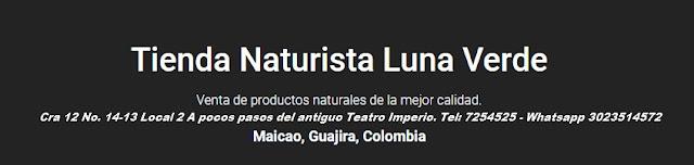 tienda naturista luna verde