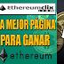 EthereumClix: La Mejor Página Para Ganar Ethereum Gratis