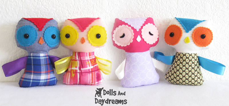 Dolls And Daydreams - Doll And Softie PDF Sewing Patterns: Free ...