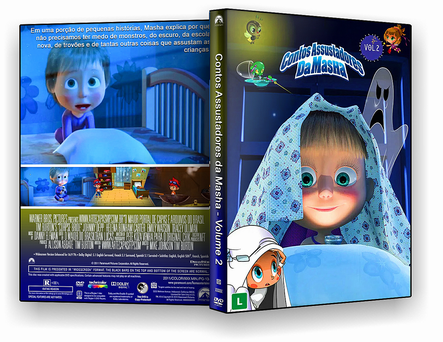 CAPA DVD – Contos Assustadores Da Masha Vol.2 – ISO