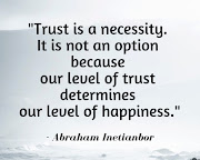 TRUST is NOT Optional to Living